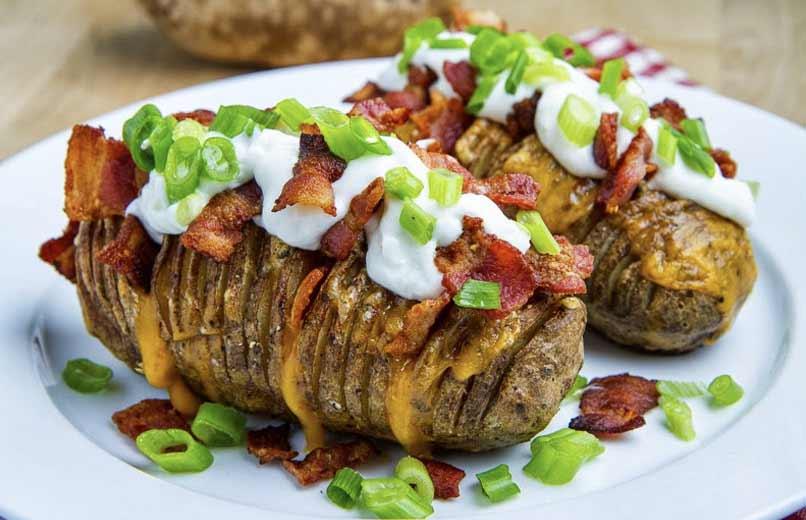 Hasselback patates